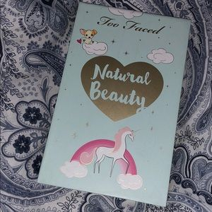 too faced natural beauty pallet